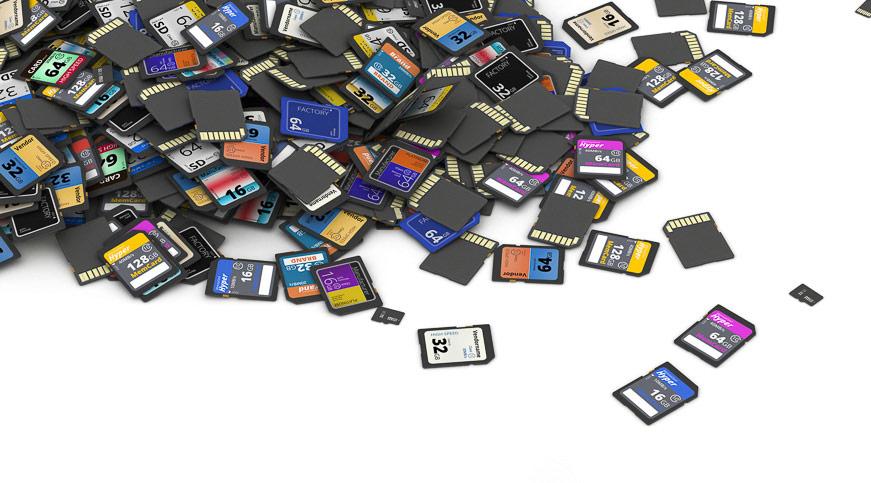 Daten von der Speicherkarte retten