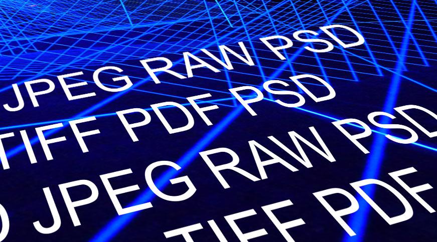Die richtigen Dateiformate bei der Bildbearbeitung und für den Druck