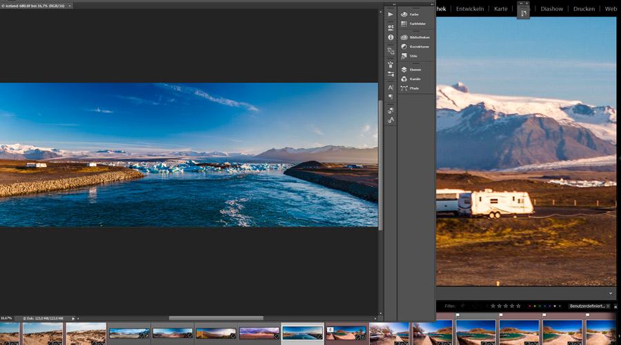 Panorama-Aufnahmen leicht gemacht