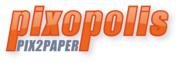 Logo pixopolis