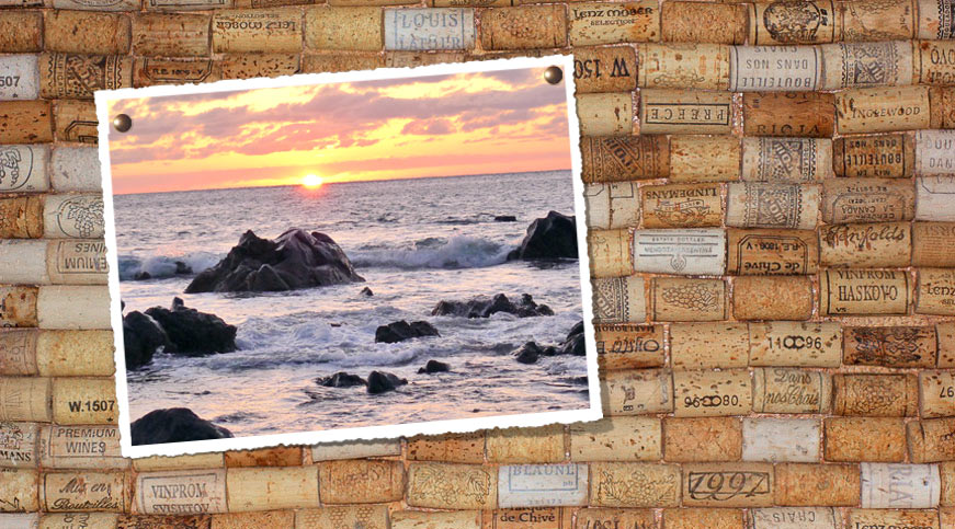 Fabulous Foto-Pinnwand aus Weinkorken UY12