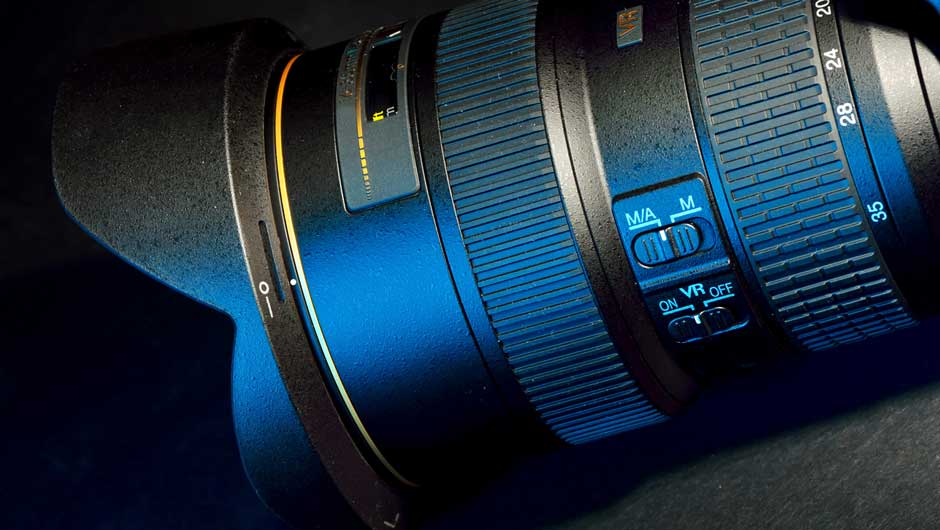 Objektiv mit Autofokus-Schalter
